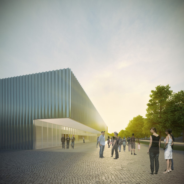 NKE University Sports Centre – design competition